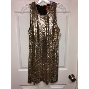 Tory Burch Sequined Mini Dress